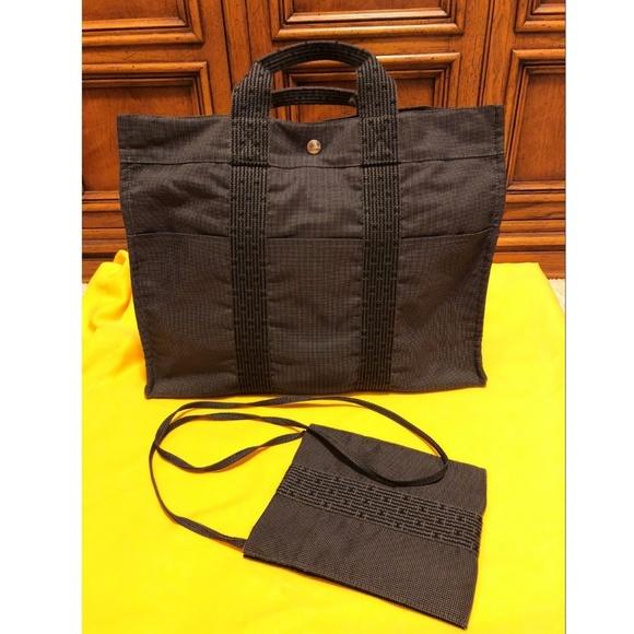 Hermes Handbags - (TWO) - Authentic HERMES HerLine Hand   Sling Bags 3dd32fee5ef8c